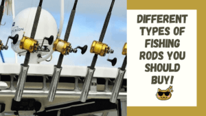 types of fishing rods